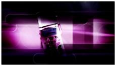 紫色电影网络科技视频素材