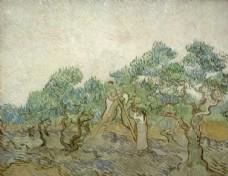 梵高风景  西方油画 写实油画