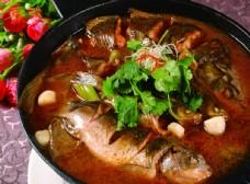 白洋淀炖杂鱼