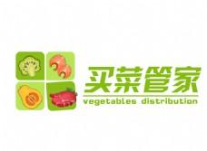 买菜管家蔬菜配送绿色标志