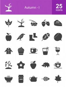 25款生活icon素材