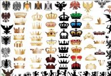 欧式复古徽标设计