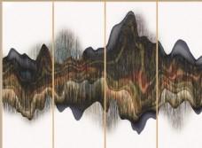 新中式水墨框画装饰画